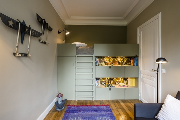 95m paris 16e am nag et d cor par la d coratrice d int rieur vanessa faivre. Black Bedroom Furniture Sets. Home Design Ideas