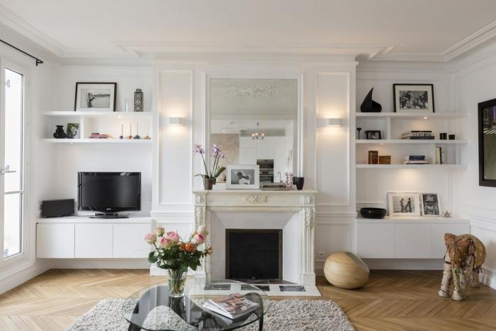 104m paris 9e am nag et d cor par la d coratrice d int rieur vanessa faivre. Black Bedroom Furniture Sets. Home Design Ideas