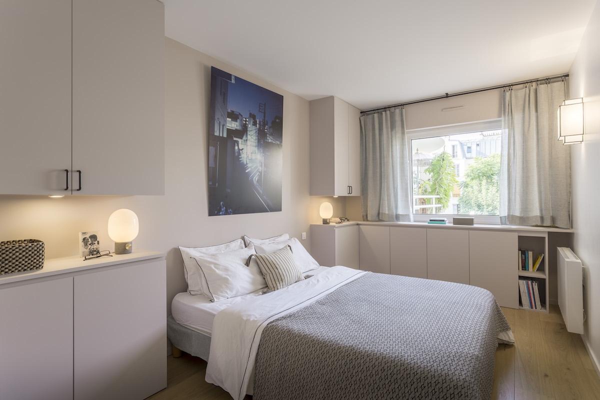 95 m levallois perret am nag et d cor par la d coratrice d int rieur vanessa faivre. Black Bedroom Furniture Sets. Home Design Ideas