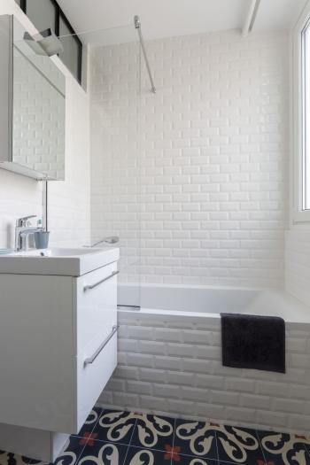 salle de bain am nag et d cor par la d coratrice d int rieur vanessa faivre. Black Bedroom Furniture Sets. Home Design Ideas