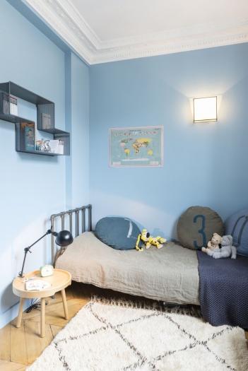 96m paris 17e am nag et d cor par la d coratrice d int rieur vanessa faivre. Black Bedroom Furniture Sets. Home Design Ideas