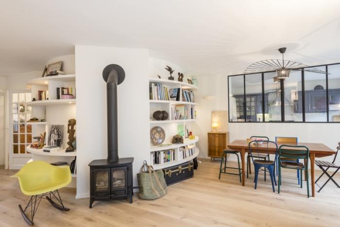170m fontenay sous bois am nag et d cor par la d coratrice d int rieur vanessa faivre. Black Bedroom Furniture Sets. Home Design Ideas